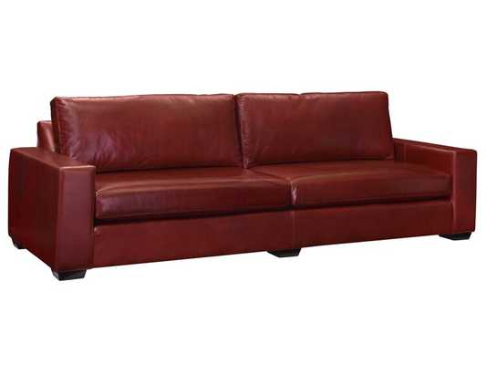 Leathercraft Maxine Sofa Upholstery: Up North Waterfall - Perigold