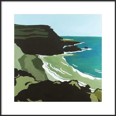 Green Sand Beach Hawaii by Elizabeth Lang for Artfully Walls - Artfully Walls