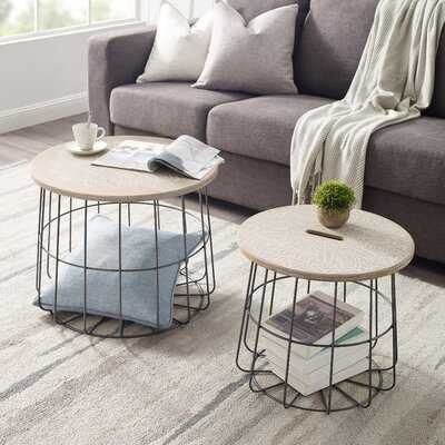 Plainfiel Frame Nesting Table - Wayfair