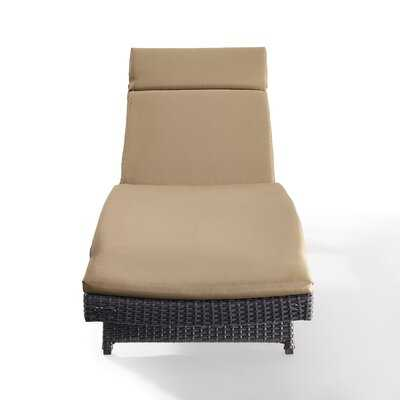 Seaton Reclining Chaise Lounge with Cushion - AllModern