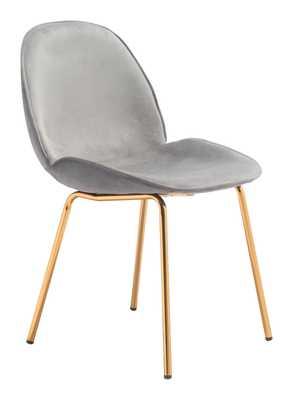 Siena Dining Chair (Set of 2) Graphite Gray - Zuri Studios
