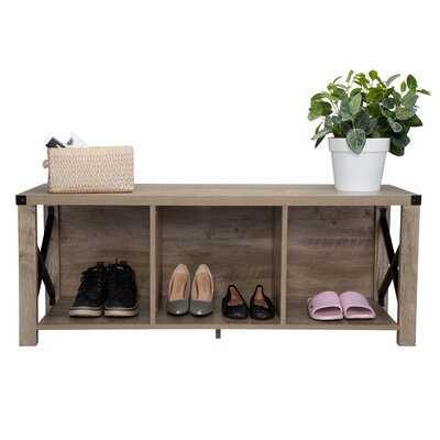 Shoe Storage Bench - Wayfair