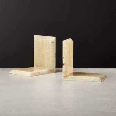 Onyx Bookend Set of 2 - CB2