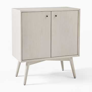 Mid-Century Cabinet, Pebble - West Elm