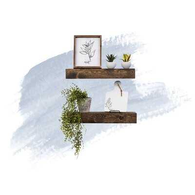 Aoife 2 Piece Wall Shelf Set - Wayfair