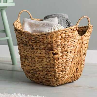 Rosalyn Water Hyacinth Wicker Basket - AllModern