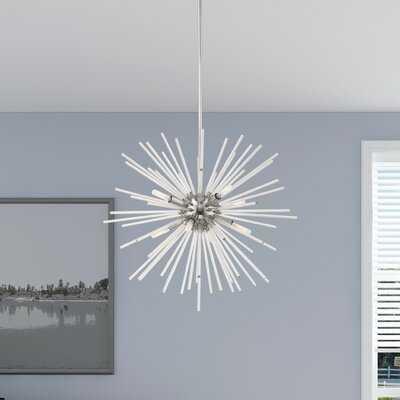 Alyse 8 - Light Sputnik Sphere Chandelier - Wayfair