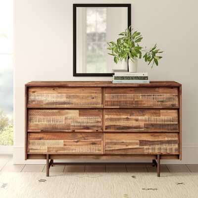Ellenton 6 Drawer Double Dresser - AllModern