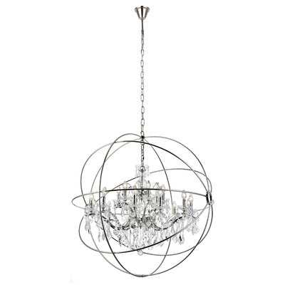 Svante 18-Light Candle Style Globe Chandelier - Birch Lane