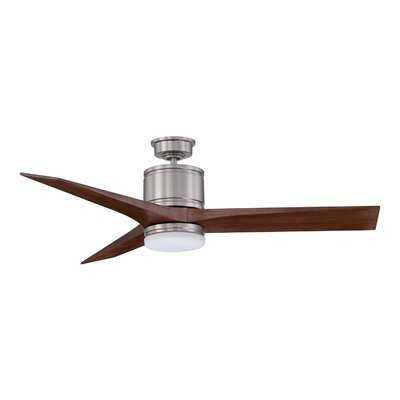 """52"""" Mervyn 3-Blade Ceiling Fan with Wall Remote - AllModern"""