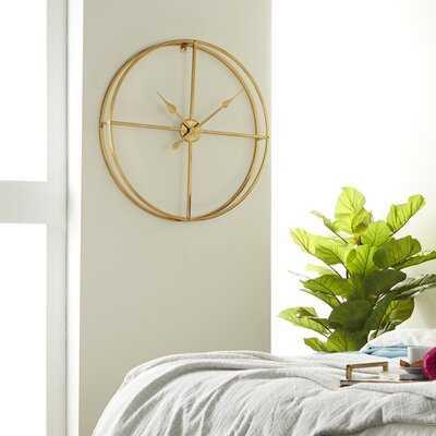 "Oversized Avani Modern 30"" Wall Clock - Wayfair"