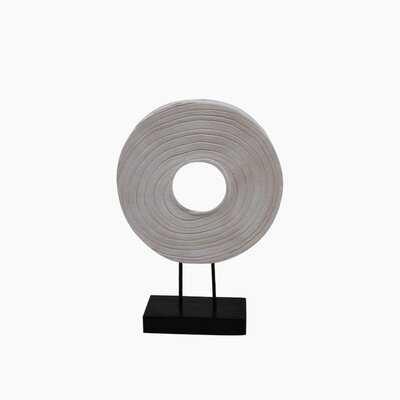 Arreon Wood Disk Table Top Decor - Wayfair