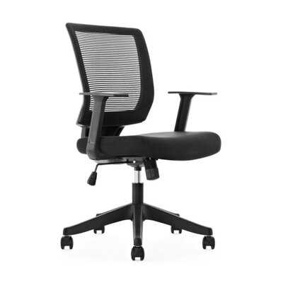 Office Chair Ergonomic Desk Chair Mid Back Swivel Mesh Computer Chair Adjustable Stool Rolling Home Office Chair With Flip Up Arms - Wayfair