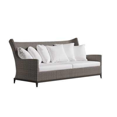 Bernhardt Exteriors Captiva Patio Sofa with Sunbrella Cushions - Perigold