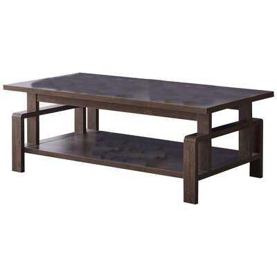 Enrika Coffee Table with Storage - Wayfair