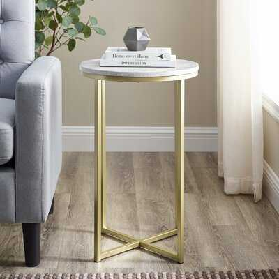 Francis Cross Legs End Table - Wayfair