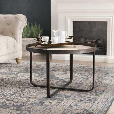 Quiles Cross Legs Coffee Table - Wayfair