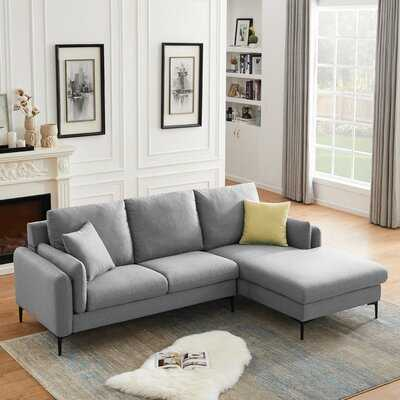 Huffine 93'' Wide Right Hand Facing Sofa & Chaise - Wayfair
