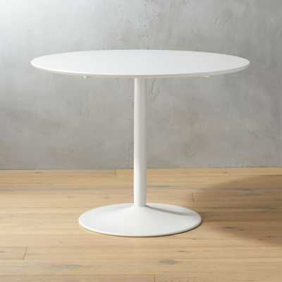 Odyssey White Dining Table - CB2
