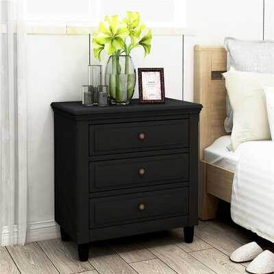 Alemany 3 - Drawer Nightstand - Wayfair