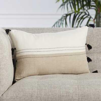 Ariene Rectangular Linen Pillow Cover & Insert - Wayfair