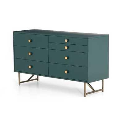 Van 7-Drawer Dresser, Juniper Green - West Elm