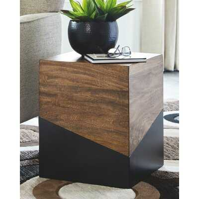 Block End Table - Wayfair