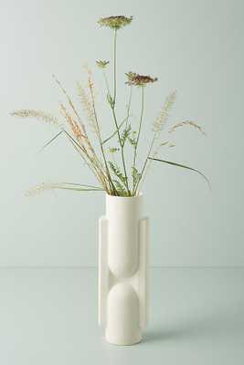 Katerina Vase By Anthropologie in White - Anthropologie