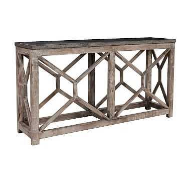 Bluestone Reclaimed Wood Console Table - Pottery Barn