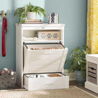 Ian 25 lb Food Storage Container - Wayfair