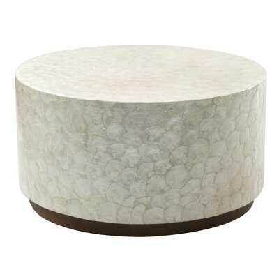 Cyril Drum Coffee Table - Wayfair