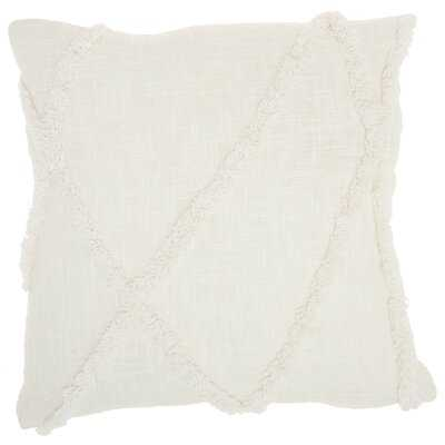 Remi Abstract Cotton Pillow Cover and Insert - AllModern