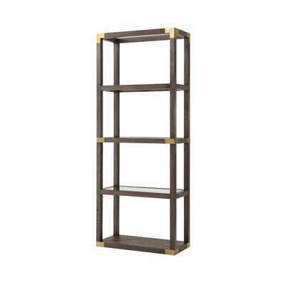 TA Studio Drewry Etagere Bookcase - Wayfair