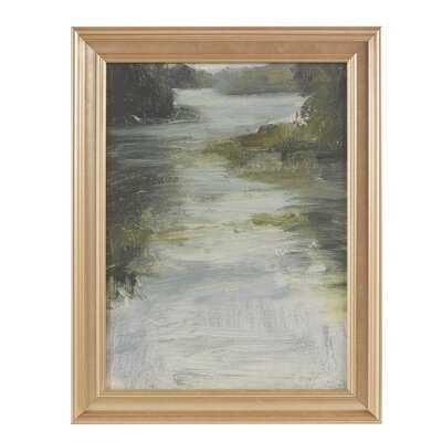 Estuary Picture Frame Graphic Art Print on Paper - Wayfair