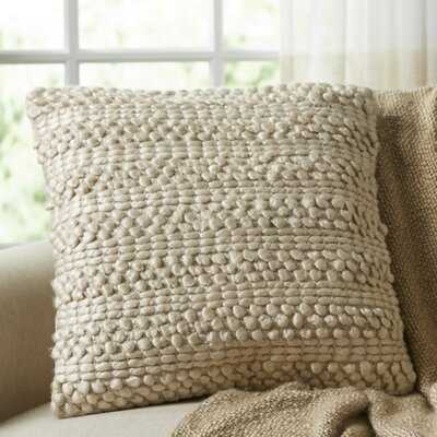 Demorest Square Pillow Cover and Insert - Birch Lane