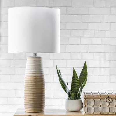 "Monterey 30"" Ceramic Table Lamp - Loom 23"