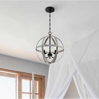 Ehrenberg 3 - Light Unique Globe Chandelier - Wayfair