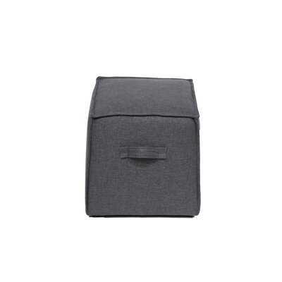 Absar 18'' Square Cube Ottoman - Wayfair