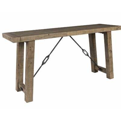 """Abshire 60"""" Solid Wood Console Table - Wayfair"""