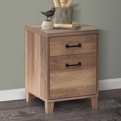 Heloise 2-Drawer Vertical Filing Cabinet - Wayfair