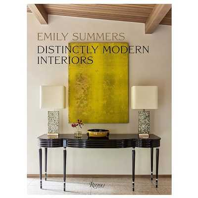 Distinctly Modern Interiors - West Elm