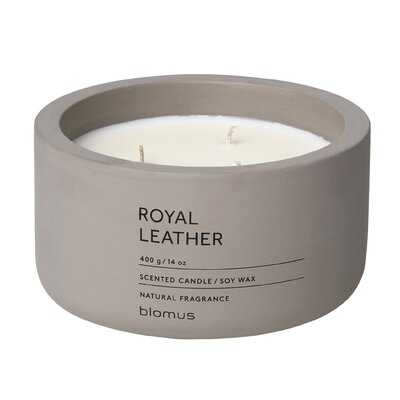 Royal Leather Scented Jar Candle - AllModern