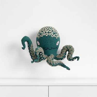 Curious Octopus Wall Head Decor - Crate and Barrel