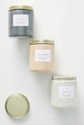 Concrete Jar Candle - Anthropologie