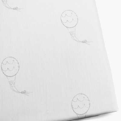 Hot Air Balloons Fitted Crib Sheet - Birch Lane