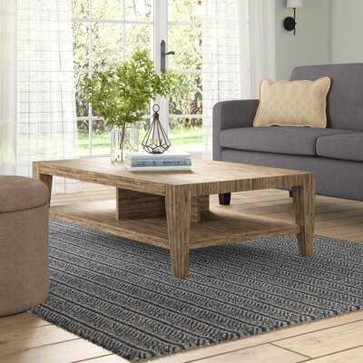 Savannah Solid Wood Coffee Table - Wayfair