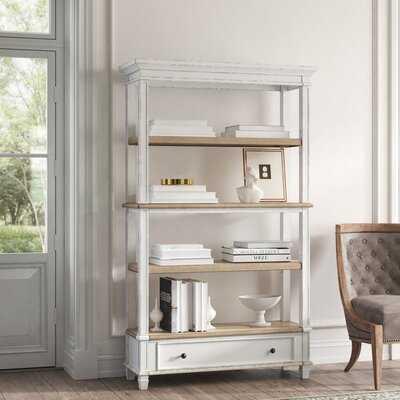 Sara Etagere Bookcase - Wayfair