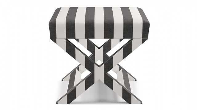 X bench   Ink Cabana Stripe - The Inside