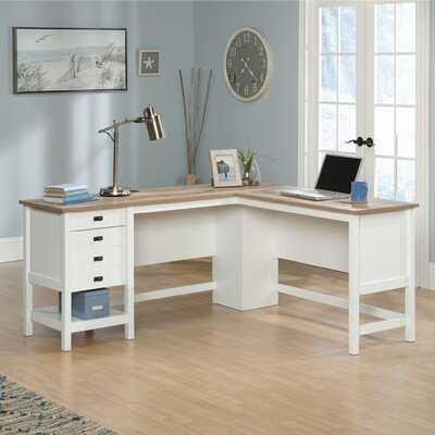 Myrasol L-Shape Executive Desk - Wayfair
