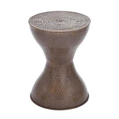 Lucian Drum End Table - Wayfair